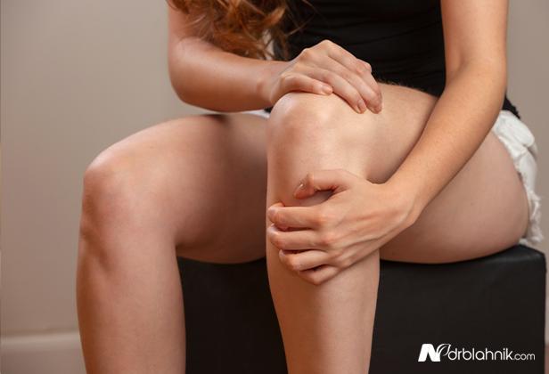 Hurt Knee Joint
