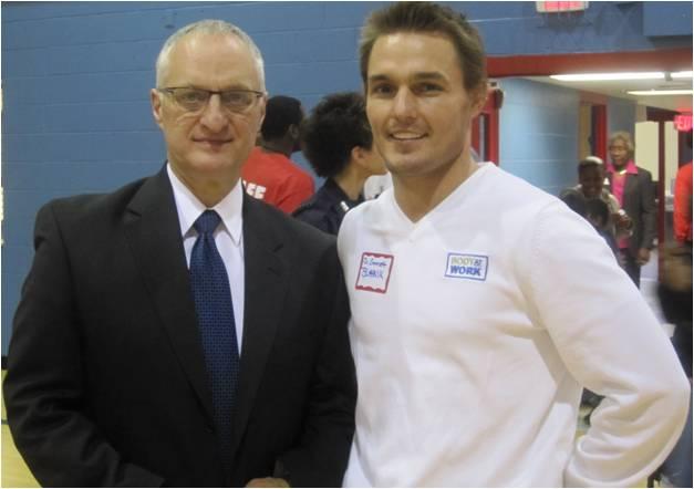 Dr Emmett Blahnik and Director Dr Nardeli