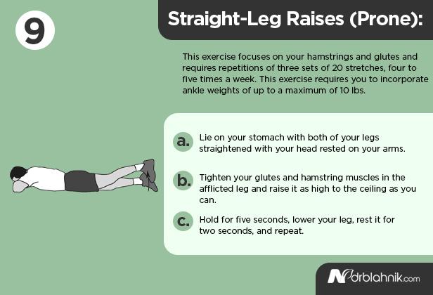 Straight Leg Raises Prone