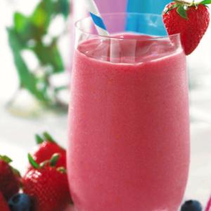 Strawberry Kefir Smoothie