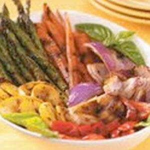 Miso Grilled Vegetables